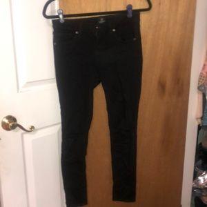Just Black black skinny jeans